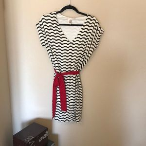Wavy stripe dress